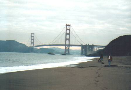 GGB   from South-West (Shore;Cloudy)