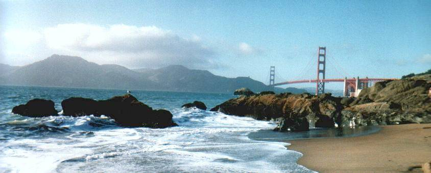 GGB   from South-West (Shore)